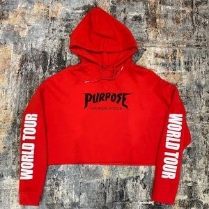 Crop Top / Sweatshirt Purpose World Tour Size M